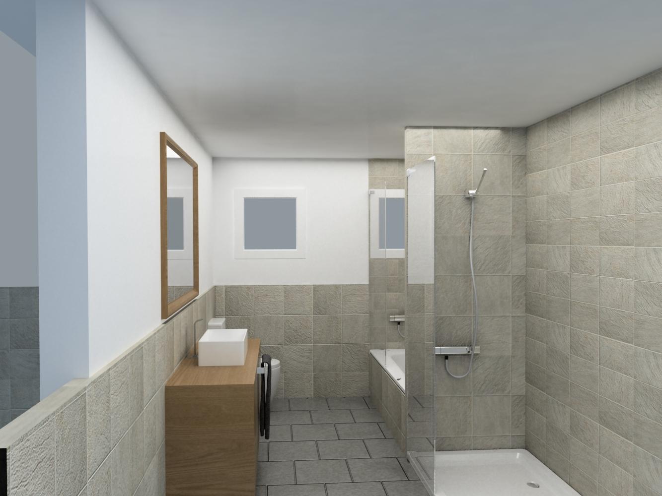 Ideas para la reforma del ba o plato de ducha o ba era for Ideas para banos con ducha
