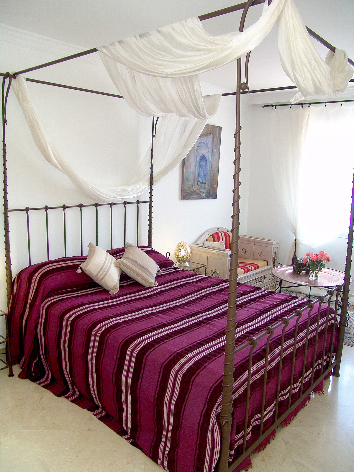 decoracion arabe dormitorio