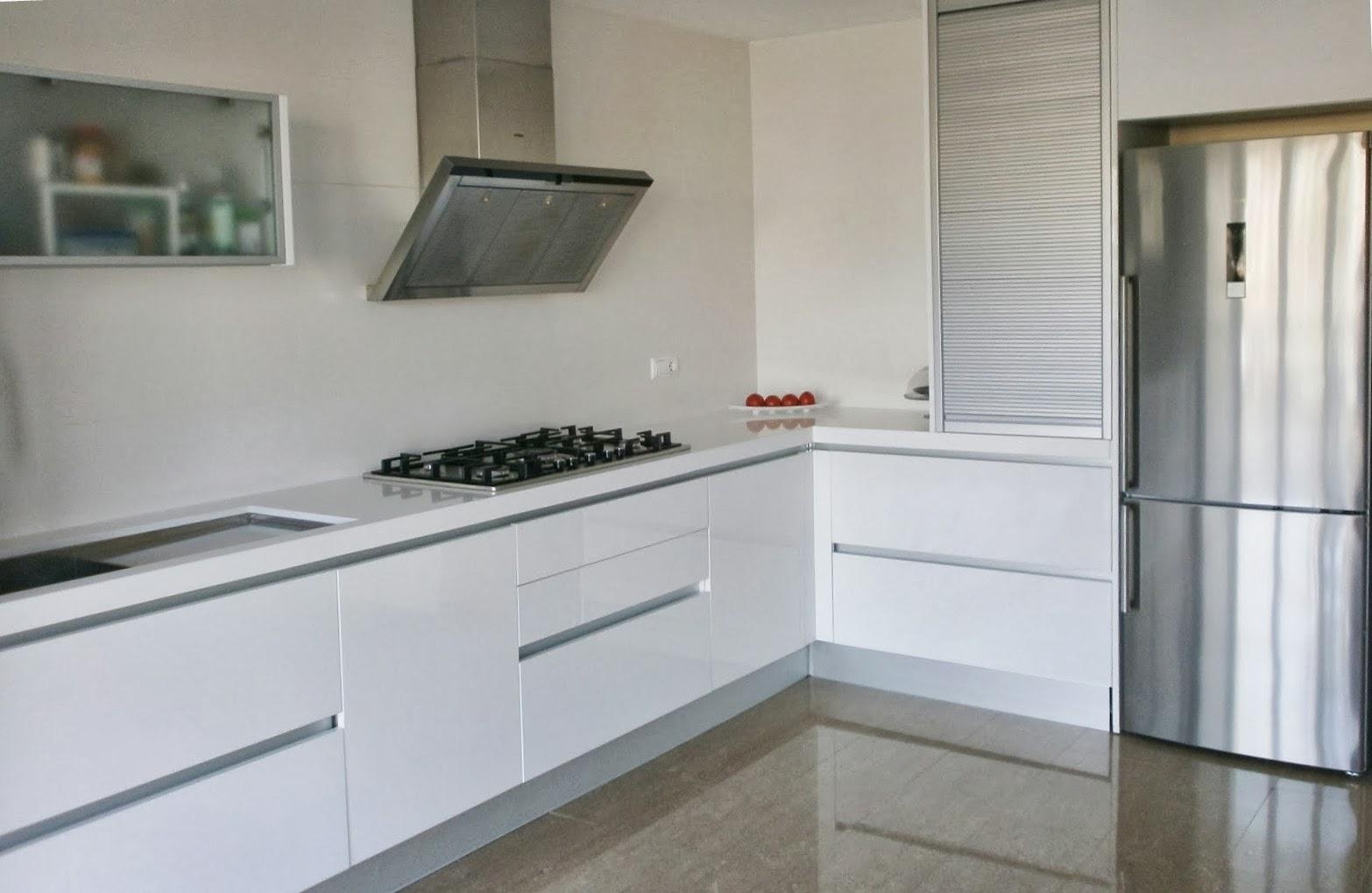 Muebles de cocina con sin tirador 03 tiradores de cocina - Tiradores para cocinas ...